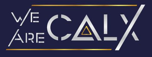 we are calx logo