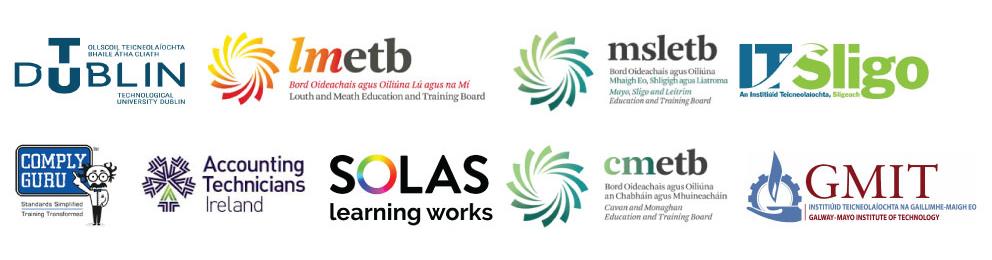 calx eduction partner logos