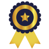 icon of prize rosette